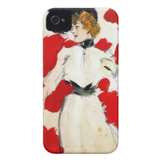 """Ramon painting Houses """"Lady with hat of pens """" Case-Mate iPhone 4 Cases"""