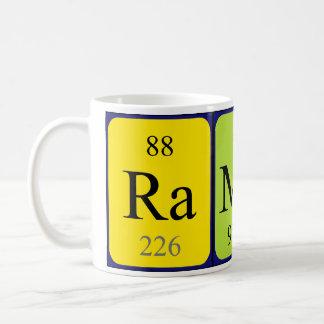 Ramon periodic table name mug
