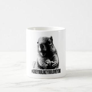 Ramon The Squirrel Hashtag Mug