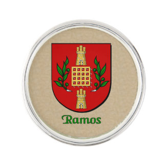 Ramos Historical Shield Lapel Pin