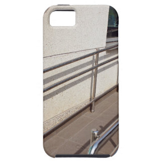 Ramp for physically challenged with metal railing iPhone 5 cover