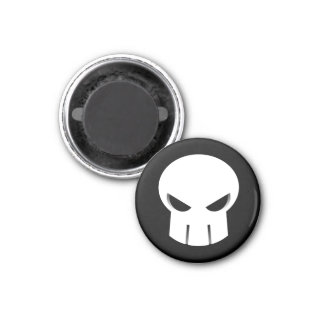Rampage Skull Magnet