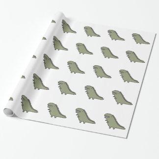 Rampaging Dinosaur! Wrapping Paper