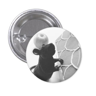 Rampant Rat Attacks Gingerbread Home 1 Inch Round Button