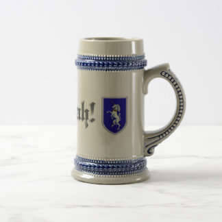Rampant Unicorn Shield Beer Stein