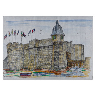 Ramparts  & Gate of Concarneau | Brittany, France Cutting Board