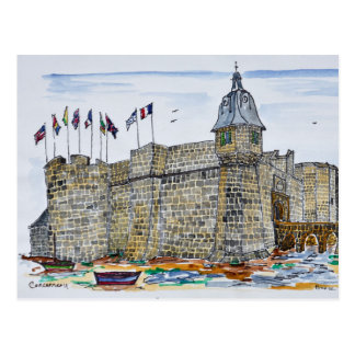 Ramparts  & Gate of Concarneau | Brittany, France Postcard