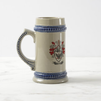 Ramsey Family Crest Coat of Arms Beer Stein