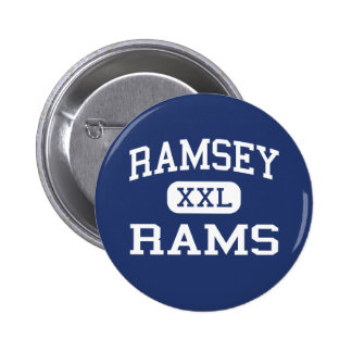 Ramsey - Rams - High School - Ramsey New Jersey 2 Inch Round Button