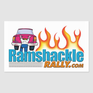 Ramshackle Rally - Round Stickers