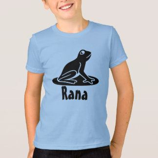 Rana - Frog in Latin T-Shirt