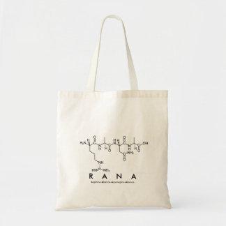 Rana peptide name bag