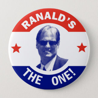 Ranald for President Button