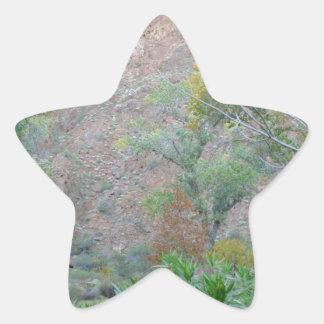 Ranch du sud de fantôme de parc national de canyon autocollants en étoile