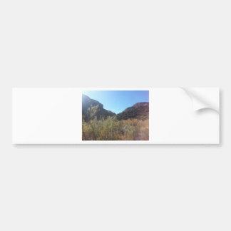 Ranch du sud de fantôme de parc national de canyon autocollant de voiture