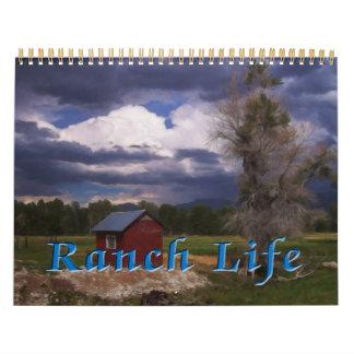 Ranch Life Calendar