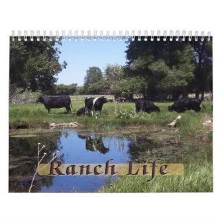 Ranch Life - Cattle Wall Calendars