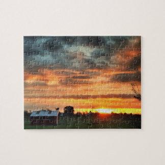 Ranch Sunrise Puzzle