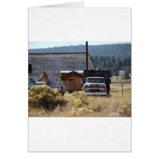 Ranch Truck Card