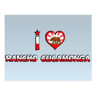 Rancho Cucamonga, CA Postcard