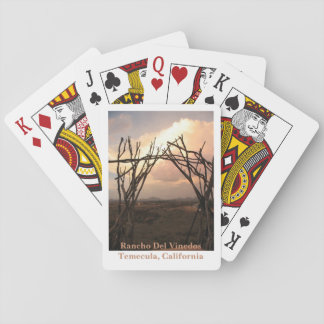 Rancho Del Vinedos Temecula CA Arch deck of cards