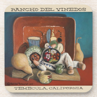Rancho Del Vinedos Temecula coaster set