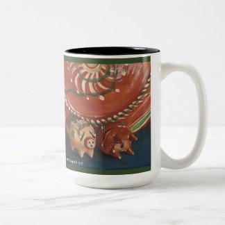 Rancho Del Vinedos Temecula mug vintage Mexican