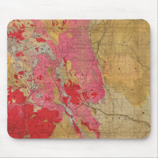 Rand McNally's new geological map Mouse Pad