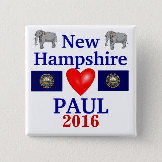 Rand Paul 2012 New Hampshire 2 Inch Square Button