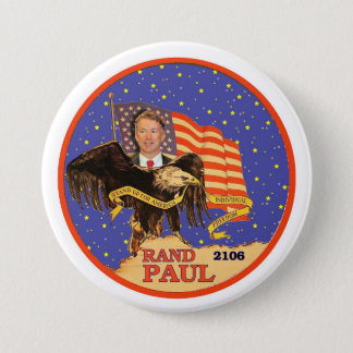 Rand Paul 2016 3 Inch Round Button