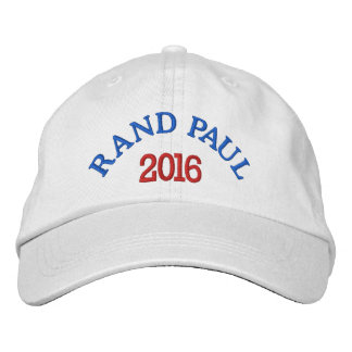 RAND PAUL 2016 Basic Adjustable Cap Embroidered Hat