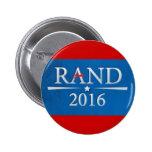 Rand Paul 2016 Pinback Buttons