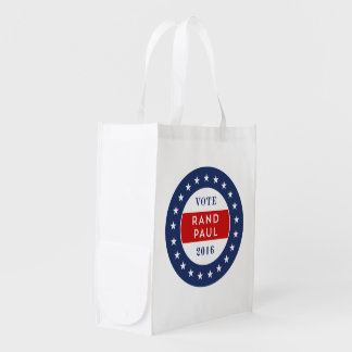 Rand Paul 2016 Reusable Grocery Bag