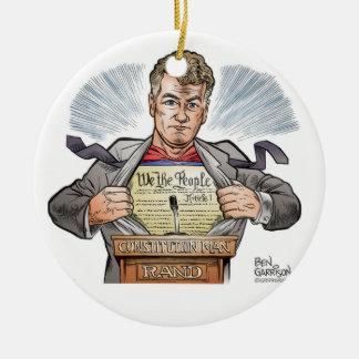 Rand Paul Circle Ornament