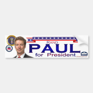 Rand Paul for President Bumper Sticker
