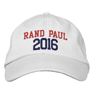 Rand Paul President 2016 Embroidered Hat