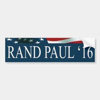 Rand Paul President in 2016 Bumper Sticker