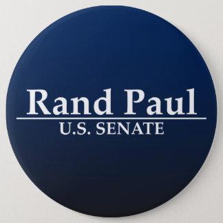 Rand Paul U.S. Senate 6 Inch Round Button