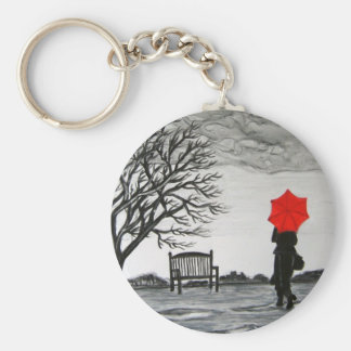 Randezvous in the Rain Key Chains