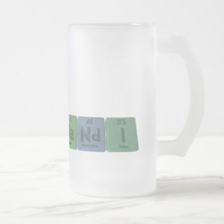 Randi as Radium Neodymium Iodine Frosted Glass Beer Mug