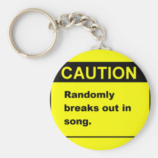 Randmon Song Keychain