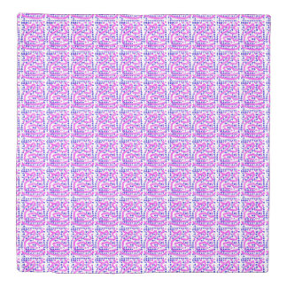 random abstract Thunder_Cove blue/pink Duvet Cover