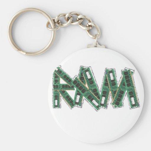 Random Access Memory Key Chain