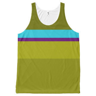 Random Act of Violet All-Over-Print Tank Top