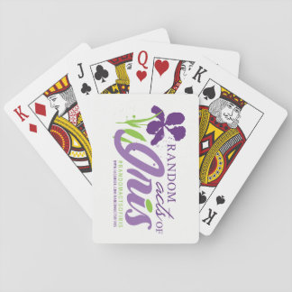 Random Acts of Iris Playing Cards