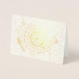 Random art foil card