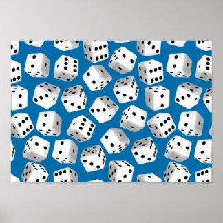 Random dice poster