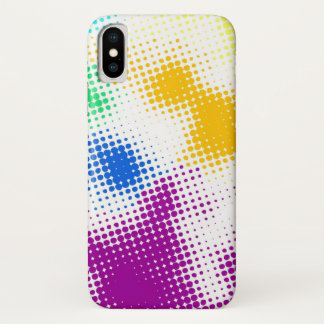 Random halftone colorful background Case-Mate iPhone case