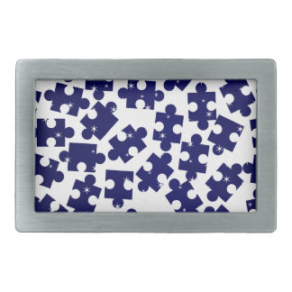 Random Jigsaw Pieces Belt Buckles