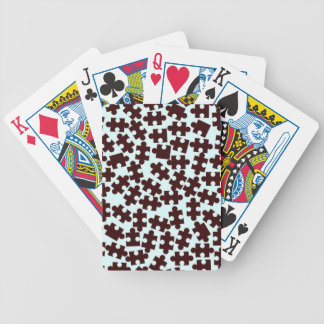 Random Jigsaw Pieces Bicycle Playing Cards